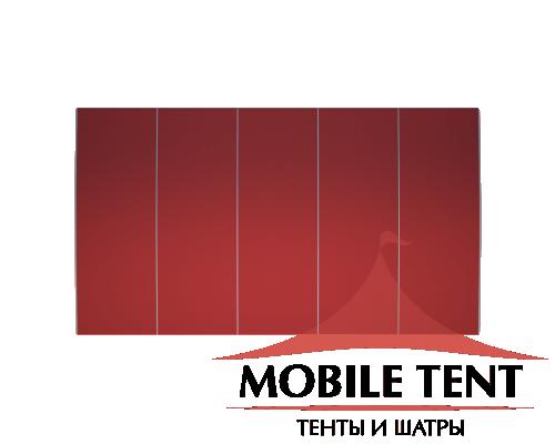 Шатёр для выставок 10х25 Схема 4