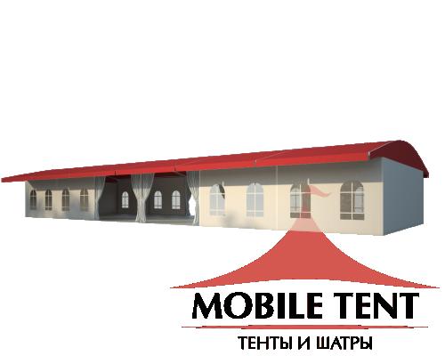 Шатёр для выставок 10х30 Схема 1