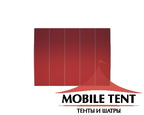 Шатёр для выставок 15х25 Схема 4