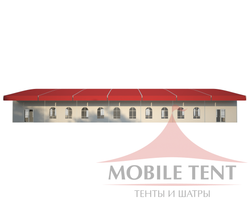 Шатёр для выставок 20х35 Схема 3