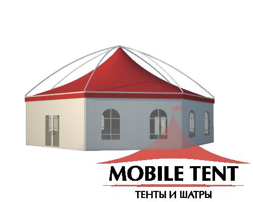 Шестигранный шатёр Лондон (Диаметр 15 м) Схема 1