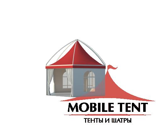 Шестигранный шатёр Лондон (Диаметр 6 м) Схема 1