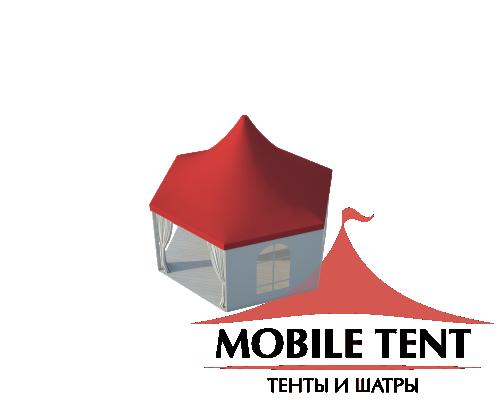 Шестигранный шатёр Римини (Диаметр 6 м) Схема