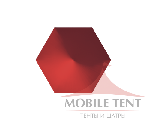 Шестигранный шатёр Римини (Диаметр 8 м) Схема 3