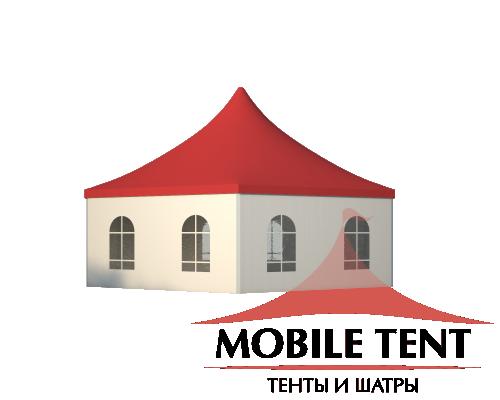 Шестигранный шатёр Стандарт (Диаметр 12 м) Схема 3