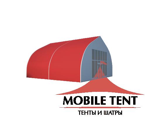 Тентовый ангар 10х10 Схема 1