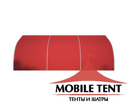 Тентовый ангар 10х15 Схема 3