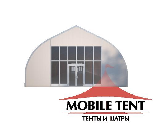 Тентовый ангар 10х40 Схема 2
