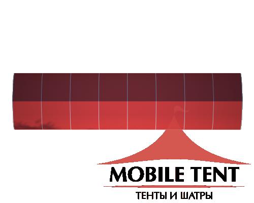 Тентовый ангар 10х40 Схема 4