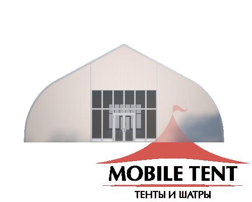 Тентовый ангар 15х20 Схема 2