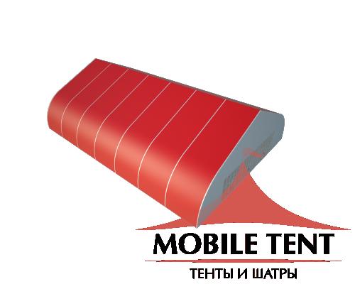 Тентовый ангар 25х35 Схема