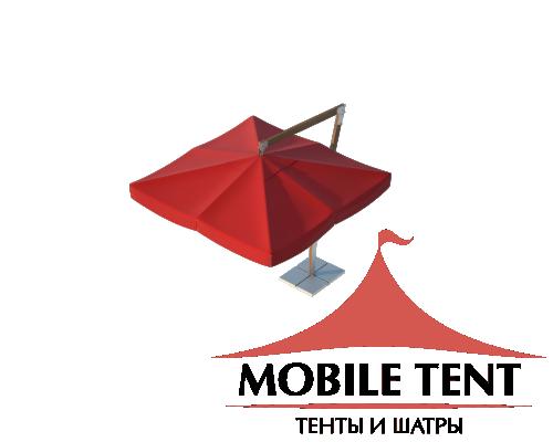 Зонт Premium Side 2х2 Схема