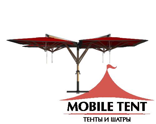 Зонт Quatro 8х8 Схема 3