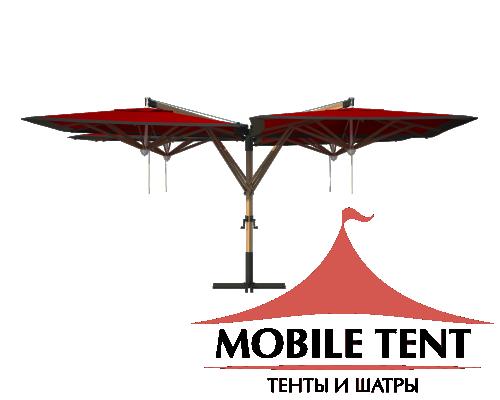 Зонт Quatro 8х8 Схема 4