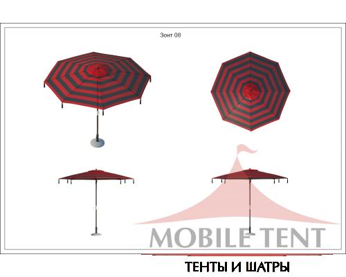 Зонт Tiger диаметр 3 Схема 1
