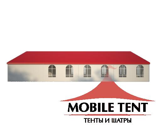 Классический шатёр 15х20 Схема 3