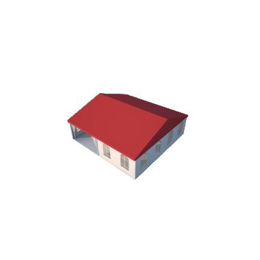 Классический шатёр 10х10 Схема