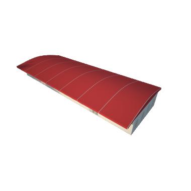 Шатёр для выставок 10х35 Схема
