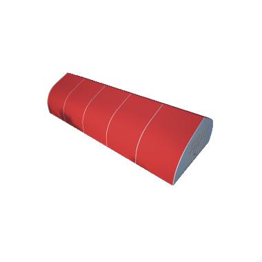 Тентовый ангар 10х25 Схема