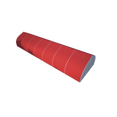 Тентовый ангар 10х35 Схема