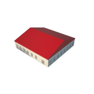 Классический шатёр 20х20 Схема