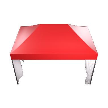 Мобильный шатёр Slim Prof 3х4.5 Схема
