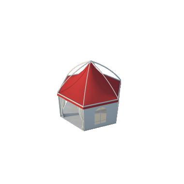 Шестигранный шатёр Лондон (Диаметр 6 м) Схема