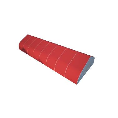 Тентовый ангар 15х40 Схема