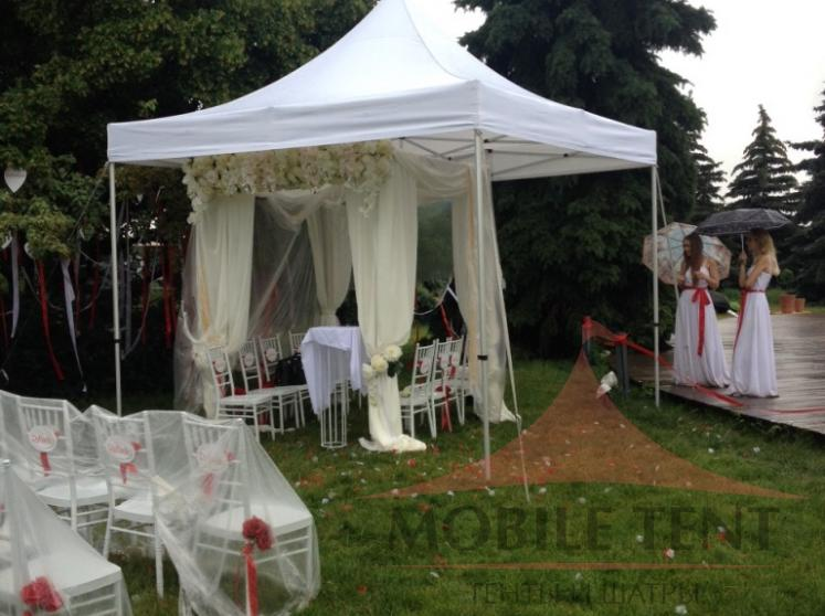Свадебный шатёр размером 3х3 Фотогалерея