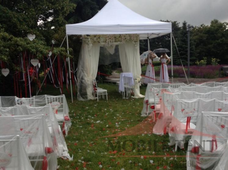 Свадебный шатёр размером 3х3 Фотогалерея 1