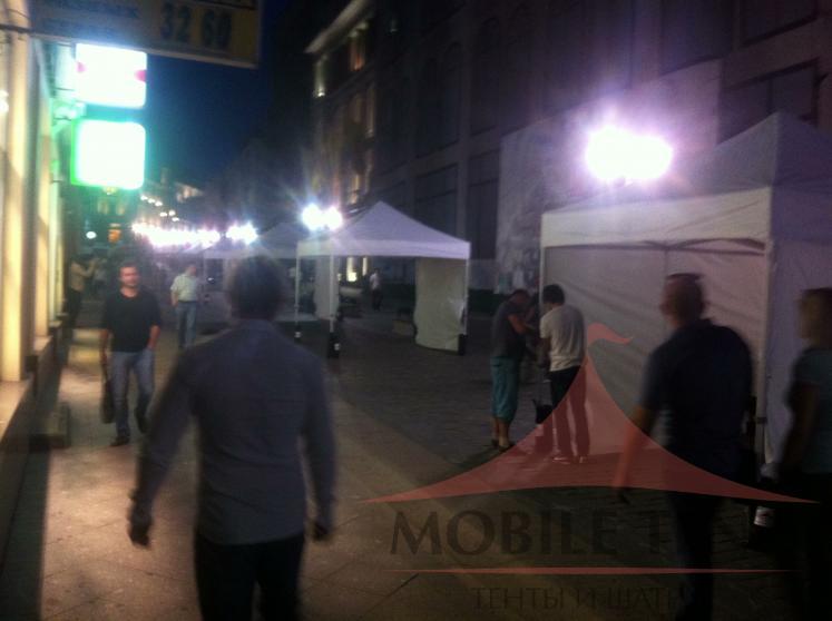Торговые шатры 3х3 Фотогалерея 2