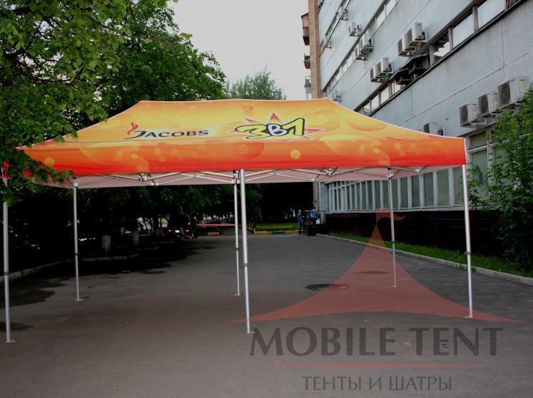 Мобильный шатёр JACOBS Фотогалерея 2