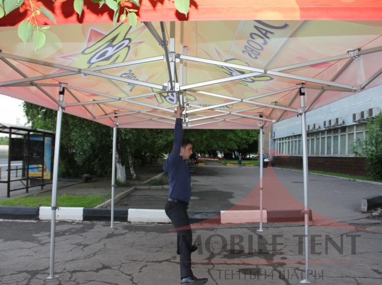 Мобильный шатёр JACOBS Фотогалерея 5