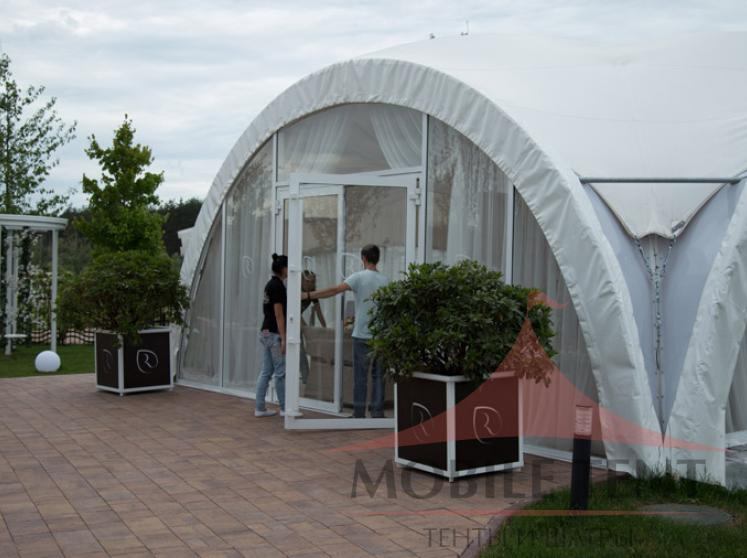 Арочный шатер для «Ольшанец-Парк Фотогалерея 5