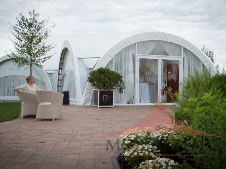 Арочный шатер для «Ольшанец-Парк Фотогалерея 7