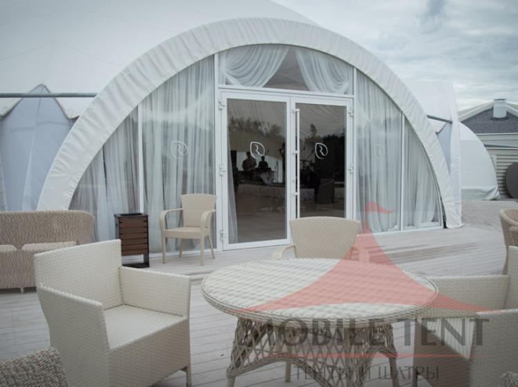 Арочный шатер для «Ольшанец-Парк Фотогалерея 8
