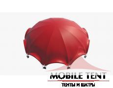 Арочный шатер 36х34 – 1000кв.м. Схема 2