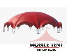 Арочный шатер 36х34 – 1000кв.м. Схема 3
