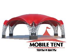 Арочный шатёр 12х10 — 94 м² Схема 2