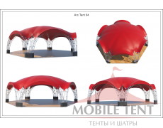 Арочный шатёр 12х10 — 94 м² Схема 5