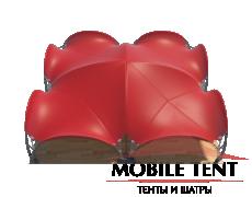 Арочный шатёр 12х12 — 144 м² Схема