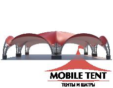 Арочный шатёр 12х12 — 144 м² Схема 1