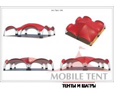 Арочный шатёр 12х12 — 144 м² Схема 5