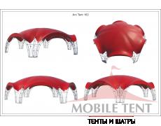 Арочный шатёр 15х13 — 163 м² Схема 5