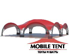 Арочный шатёр 16х16 — 256 м² Схема 2