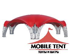 Арочный шатёр 20х17 — 260 м² Схема 2