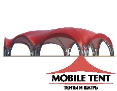 Арочный шатёр 21х15 — 287 м² Схема 3