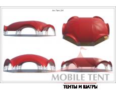 Арочный шатёр 21х16 — 336 м² Схема 4