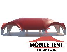Арочный шатёр 22х20 — 360 м² Схема 1