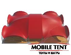 Арочный шатёр 25х20 — 500 м² Схема